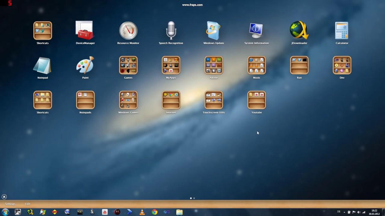 WinLaunch - OSX Launchpad for Windows