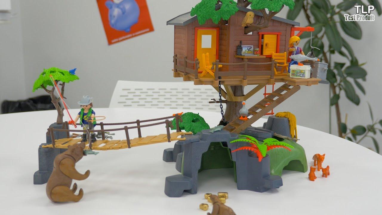 Playmobil 5557 wild life cabane des aventuriers dans les for Casa del arbol playmobil carrefour