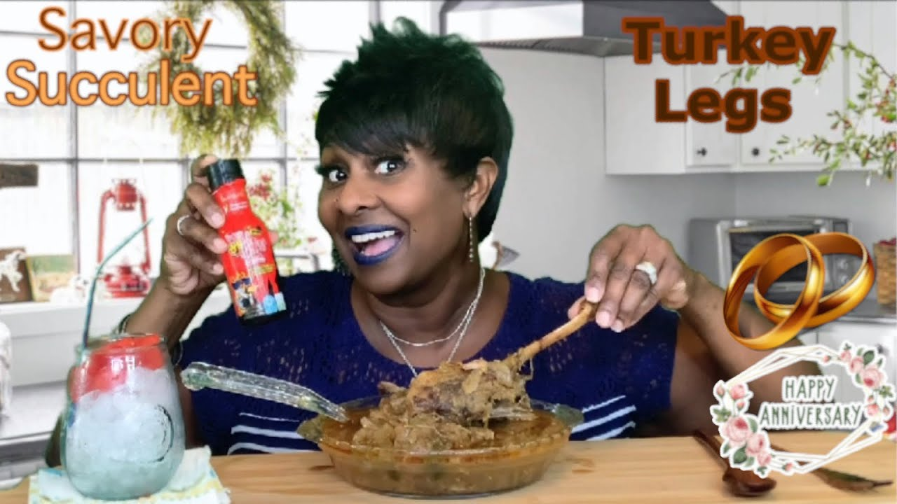 """HAPPY 14TH ANNIVERSARY!   2X SPICY TURKEY LEGS @Bloveslife Sauces   It's """"Needed Motivation"""" For Me"""