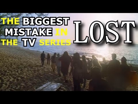 The BIGGEST MISTAKE in the TV series LOST
