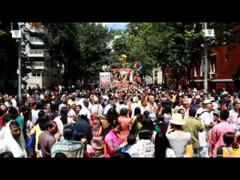 Jagannath Rath Yatra 2014 - New York USA