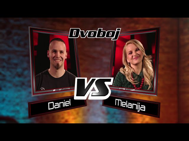 Daniel vs. Melanija: Just Give Me A Reason - The Voice of Croatia - Season1 - Battle1