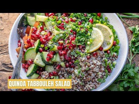 How To Make Quinoa Tabbouleh Salad Best Quinoa Tabouli Salad Recipe Blondelish