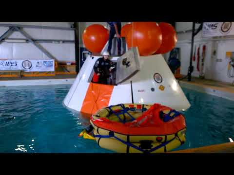 Side Escape From Orion Capsule