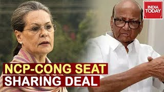 NCP-Congress Discusses Maharashtra Seat Sharing Deal; Cong Likely To Contest For 111 Seats