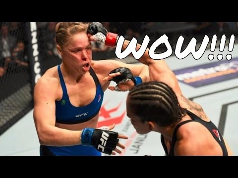 Thumbnail: UFC 207: Amanda Nunes DESTROYS Ronda Rousey in 48 seconds! TKO! Rousey is DONE!