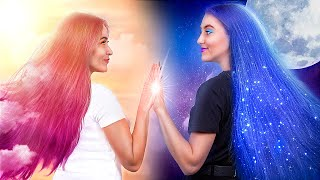 Day Girl vs Night Girl! / Roommate Prank Wars!