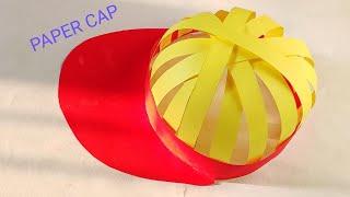 Art and craft, craft work, paper work, PAPER CAP, origami craft, origami craft ideas, craft ideas