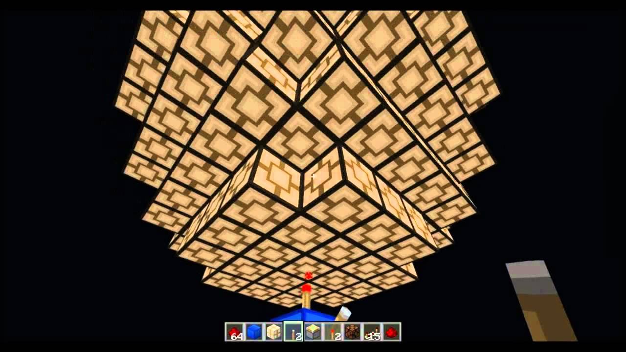 How To Make A Ceiling Light In Minecraft - Ceiling Designs