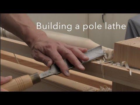 Pole lathe build