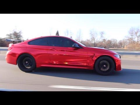 Download TOYOTA SUPRA VS LANCE STEWART'S BMW M4! (RACE)
