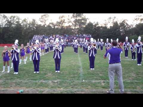 Berkshire High School Marching Band Performs the School's Alma Mater
