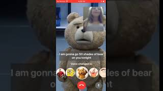 Mod Talk app - Ted 50 shades of bear