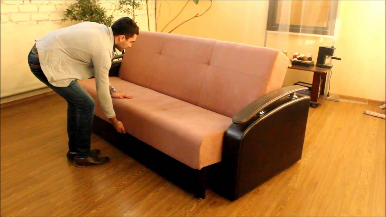 Обзор прямого дивана Даллас 018 - YouTube