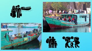 Island of YAP: Confiscated refugee boats 😲, harbour of Colonia (Pacific Ocean)