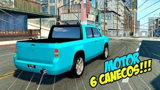 CRIEI UMA CAMINHONETE COM MOTOR 6 CANECOS!! - AUTOMATIION - beamng drive