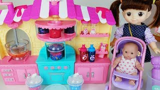 Baby doll color juice shaker play and slime toys - 토이몽