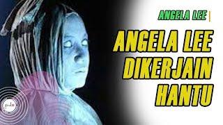 Jatuh dari Tangga, Angela Lee Curiga Dikerjai Makhluk Halus di Lokasi Syuting
