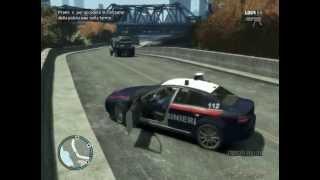 Gameplay ITA GTA IV Police MOD - Uscita in volante, pattugliamento zona EST - LCPDFR