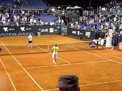 Nicolás Massú-Federico Del Bonis ATP Viña del Mar 2012