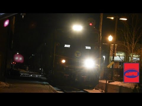 Nikon D3400 Test Video: MBTA 617 @ Needham Center!