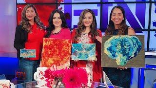 The Elena & Natalia Show | Paint and Worship - Part 1