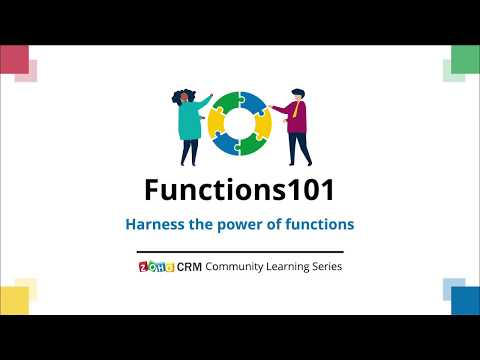 Functions101 - More on Zoho CRM functions thumbnail