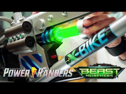 """Power Rangers Beast Morphers - X-Bikes And Beast-X Cannon   Episode 3 """"End Of The Road"""""""