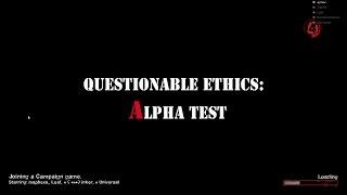 Left 4 Dead 2: Questionable Ethics: Alpha Test