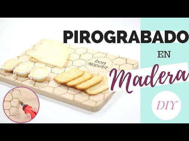 IDEAS de PIROGRABADO en madera   DIY