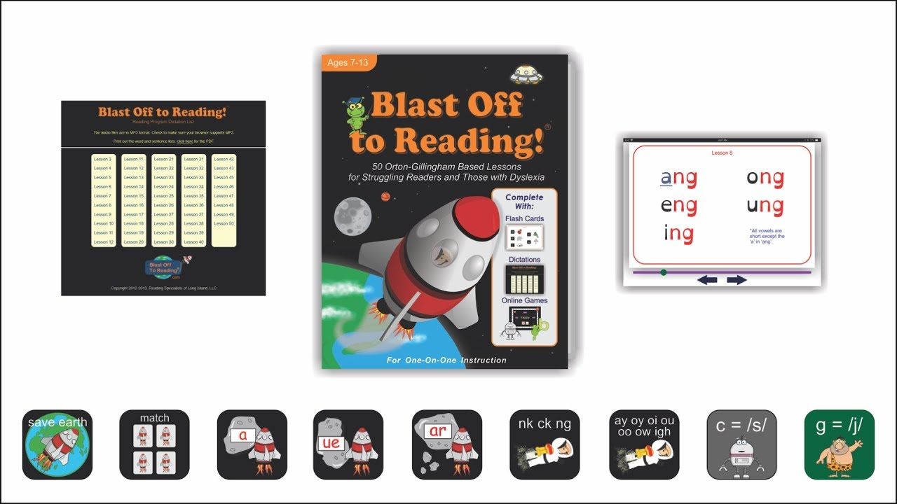 Blast Off to Reading! Affordable Reading Program For Ages 7-13