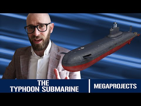 Typhoon Class Submarine: The Largest Submarine Ever Built - Megaprojects