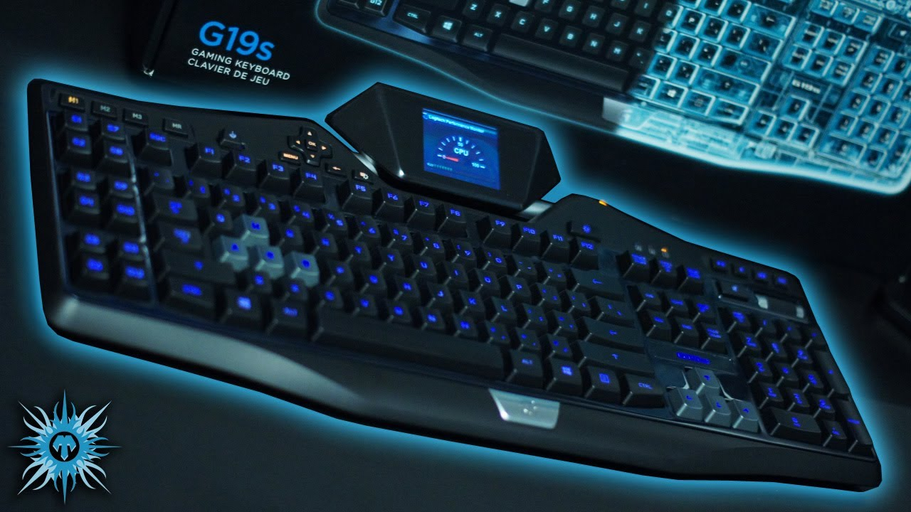 Logitech G19s Gaming Keyboard Review - YouTube