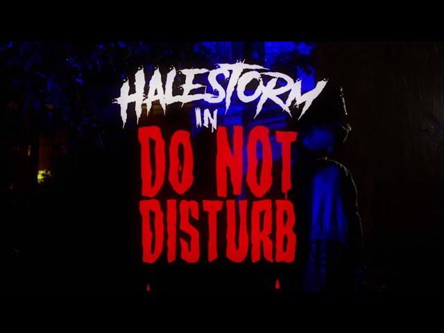 Halestorm - Do Not Disturb [Official Video]