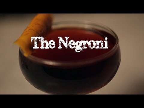 The Negroni - Drink Inc.