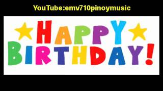 Happy Birthday (Organ Music) - Relly Coloma