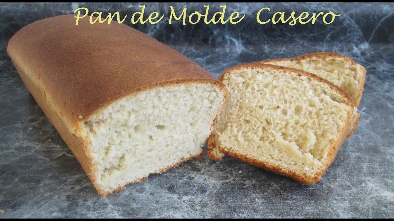 Receta pan de molde casero muy facil silvana cocina y for Cocinar facil