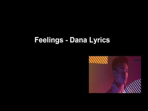 Feelings - Dana Lyrics