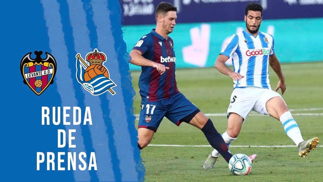 """POST-PARTIDO   Merino y Gorosabel: """"Dependemos de nosotros"""" Levante UD 1-1 Real Sociedad"""