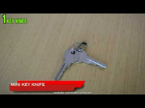 Cách làm chìa khóa đa năng