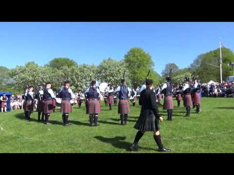 Field Marshal Montgomory Pipe Band @ Ards & North Down Pipe Band Championships 2016