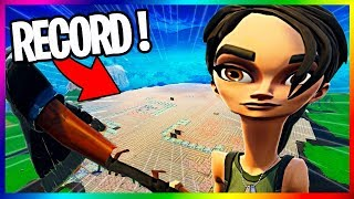 THIS BAMBI REALISE THE WORLD'S BIGGEST CONSTRUCTION ON FORTNITE BATTLE ROYALE !!!