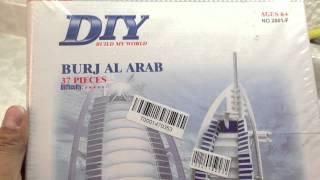 Burj Al Arab Hotel Dubai Rompecabezas 3D