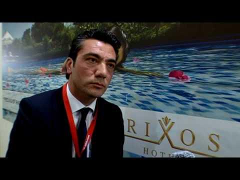 Tunç Tuzcu, Corporate Communications & PR Manager, Rixos Hotels @ ITB 2010