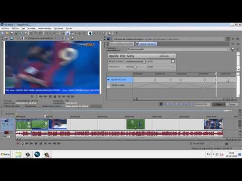 Efecto cambiar color de un video| Sony Vegas 2018