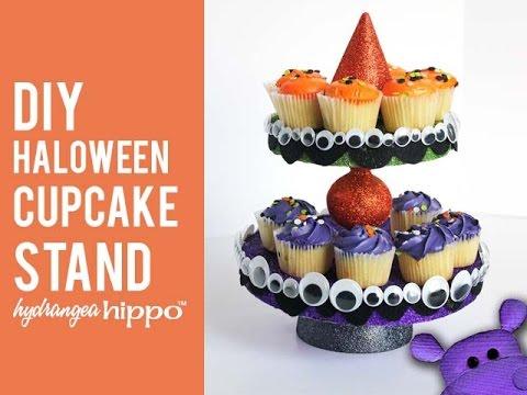 diy halloween cupcake stand - Halloween Cupcake Holder