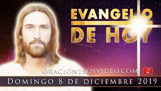 Evangelio De HOY  Domingo 08 Dic. Aquí está la esclava del...