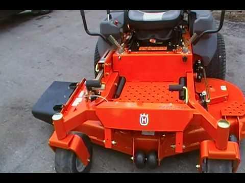 Husqvarna 60 Zero Turn Lawn Mower With 34hp Kawasaki