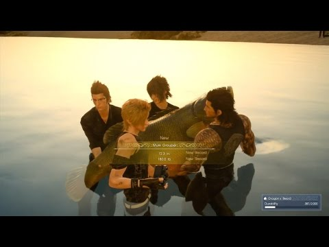 Final Fantasy XV (Burden Of Expectation) Meet Iris In Lestallum