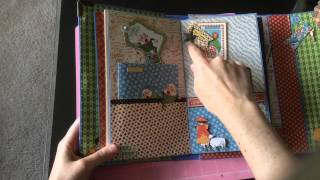Graphic 45 Mother Goose Photo Journal